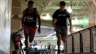 Isaiah And CJ Vertical Jump Workout! Video