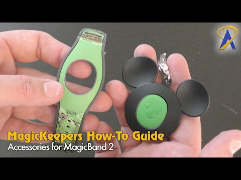 How To Use MagicKeeper MagicBand 2 Accessories at Walt Disney World