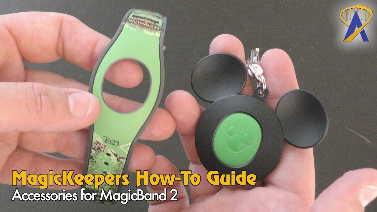 02a416dd24713 How To Use MagicKeeper MagicBand 2 Accessories at Walt Disney World