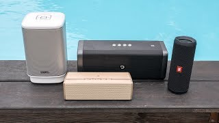 Bluetooth speakers summer 2017 addendum - also best...?
