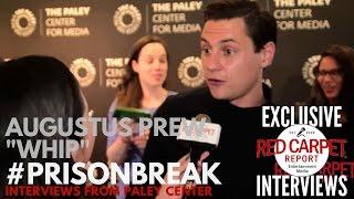"Augustus Prew ""Whip"" interviewed at FOX's Prison Break S5 Paley Center Event & Panel"