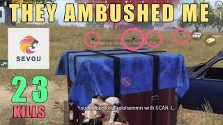 This Almost Killed me!! | 23 KILLS | SOLO SQUAD | PUBG Mobile