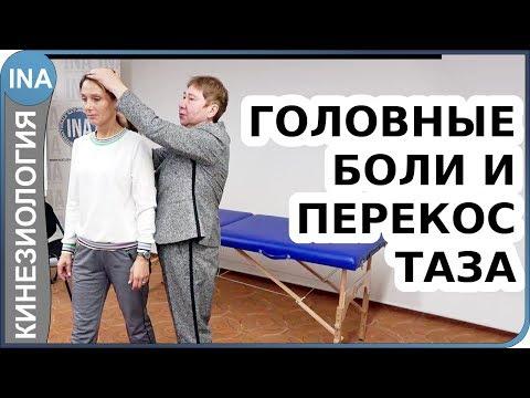 Головные боли и перекос таза. Прикладная кинезиология. Проф. Л.Ф.Васильева