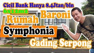 Review Show Unit Baroni symphonia gading serpong yang berada di Cluster Baroni Serpong terletak di kawasan symphonia summarecon tangerang banten ...