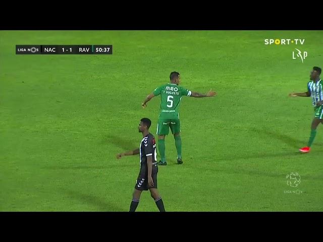 Goal | Golo Santos: CD Nacional 1-(1) Rio Ave (Liga 20/21 #34)