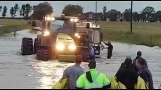 Free State farmers help EMS in rescue of from bus stranded in flooding