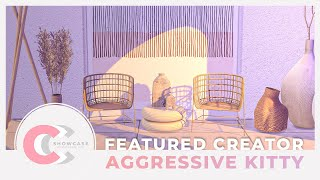 Greek-Inspired Villa // CCC Showcase - Aggressive Kitty // Sims 4 Stop Motion Build