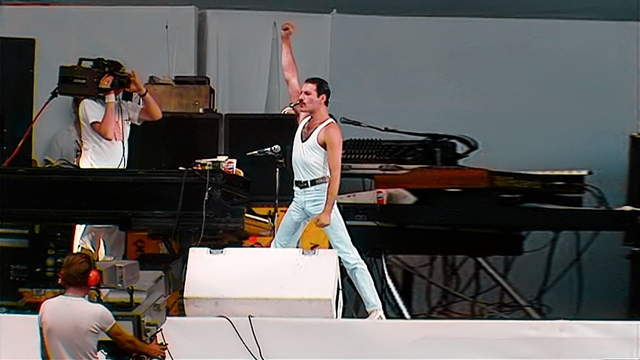 Queen Full Concert Live Aid 1985 Fullhd 60p Youtube