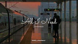 Radiohead - All I Need   Letra (Inglés - Español)