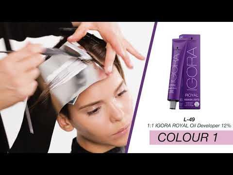 Fashion Lights Colour Transformation by Schwarzkopf Professional