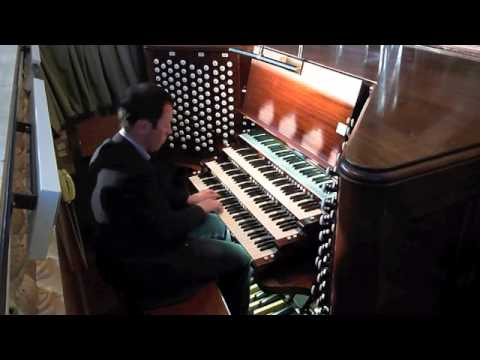 Anthony Hammond - Organ Improvisation - The Mother Church, Boston