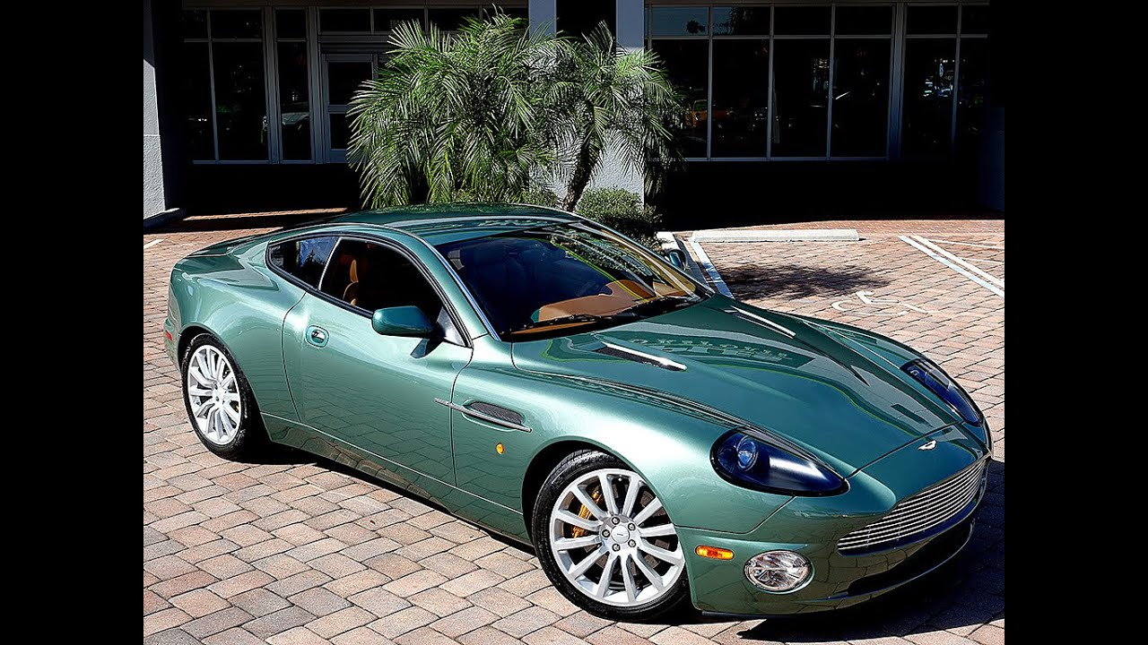 2002 Aston Martin Vanquish For Sale, Review - YouTube