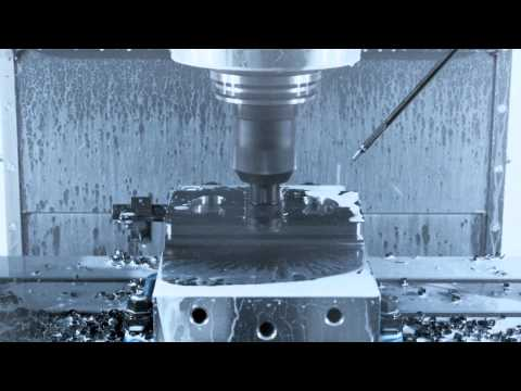 Haas VF-6/50 Cutting Demo