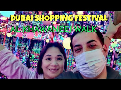DUBAI SHOPPING FESTIVAL /AL KHAWANEEJ WALK /ALICE IN WONDERLAND /ALIYAH AND MOMMY LDR