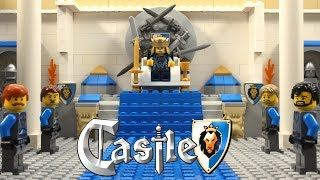 видео: Lego Castle Lion Knight's Legends Stop Motion Animation