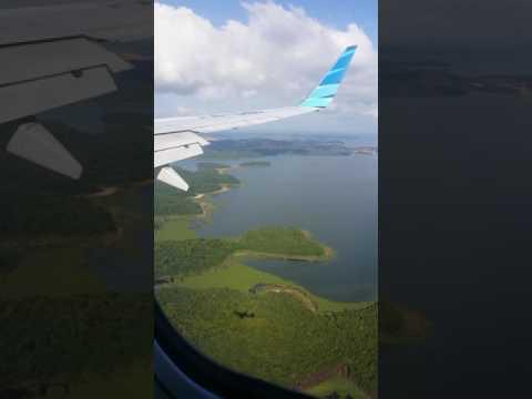 Amazing Landed from GA 154 CGK~BTH @Hang Nadim Airport Batam Indonesia