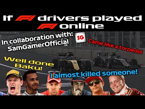 If F1 Drivers Played F1 Online