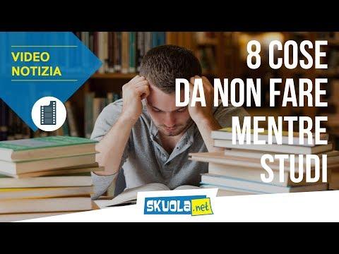 Metodo di studio: ecco gli 8 errori da non fare