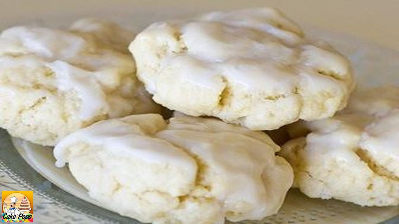 Italian anise cookies Angelonies - YouTube