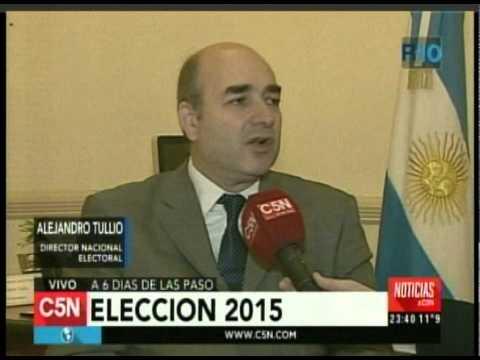 C5N - Eleccion 2015: A 6 dias de las PASO