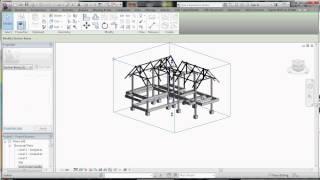 ريفيت التعليمي -القسم مربع في عرض 3D