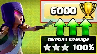 3 STARRING MY WAY TO 6000 TROPHIES!! - Clash Of Clans