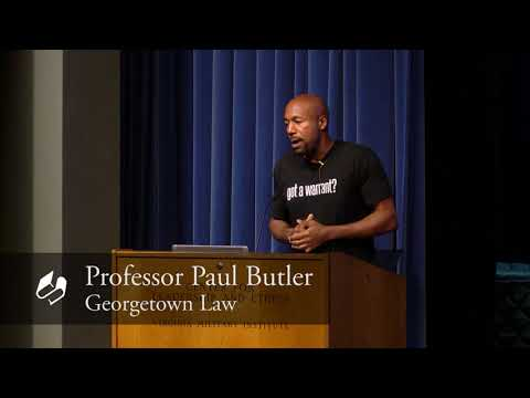 """""""Just Policing""""- Paul Butler"""