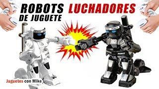 ROBOTS LUCHADORES DE JUGUETE | Juguetes con Mike