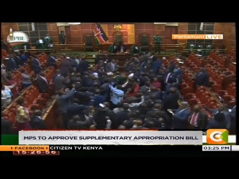 Standoff in Parliament as MPs oppose Uhurus tax proposals #FinancialBill2018