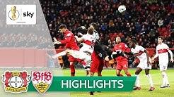 Stuttgart-Torwart boxt VfB raus | Leverkusen - Stuttgart 2:1 | Highlights - DFB-Pokal | Achtelfinale
