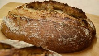 Бездрожжевой хлеб с гречневой мукой