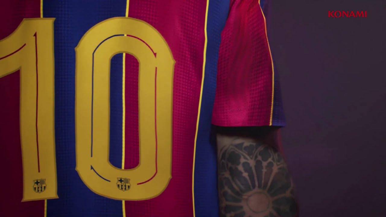 PES 2021|2022 next gen.TRAILER NUEVO KIT FC BARCELONA 2021 ...