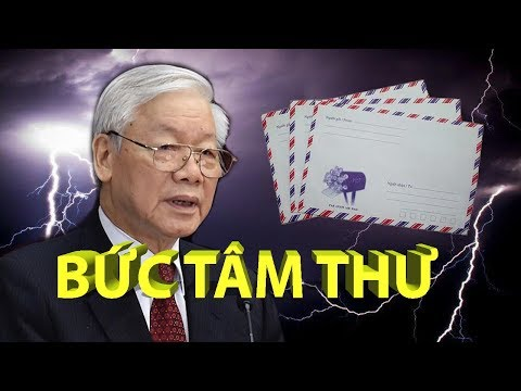 BỨC TÂM THƯ gửi Nguyễn Phú Trọng và các Đảng Viên trước ĐH13