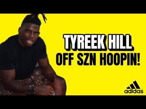 Tyreek Hill & Teammates Play Basketball in the Off-Season! Can You Guard Tyreek?!
