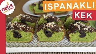 Ispanaklı Kakaolu Kek - Kek Tarifleri - Nefis Yemek Tarifleri