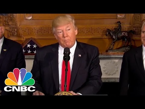 President Donald Trump on Antiquities EO: Today We Are Putting The States Back In Charge | CNBC