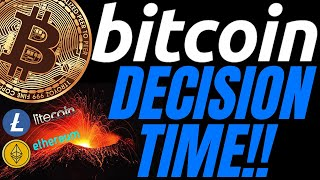 CRITICAL AREA FOR BITCOIN LITECOIN ETHEREUM and DOW JONES crypto price trading news