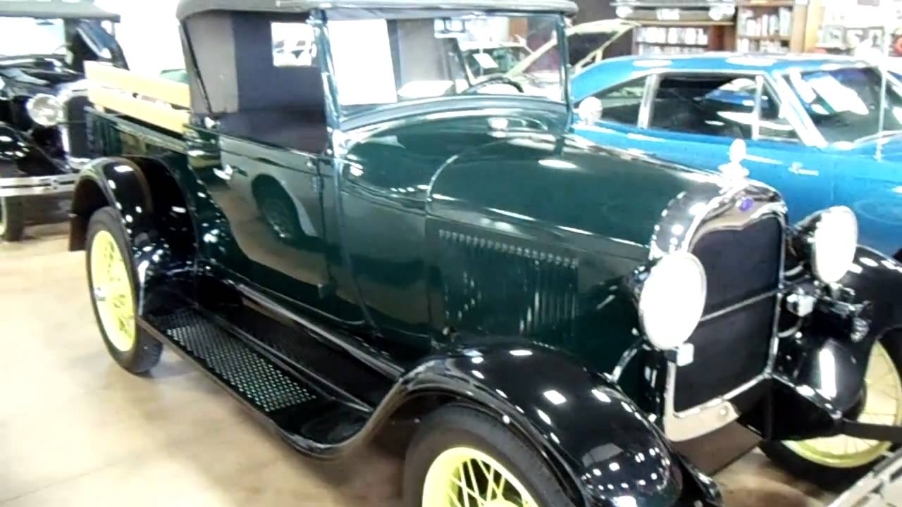 1928 Ford Model A Roadster Pick Up Nicely Restored