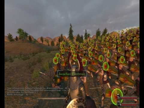 mount and blade warband 100k party size - YouTube
