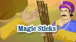 Akbar And Birbal | Magic Sticks | English Animated Stories For Kids