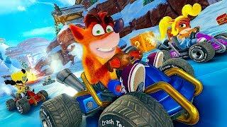 Crash Team Racing Nitro-Fueled - 48 Minutes of  Gameplay So Far (2019)