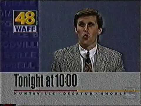 WAFF 48 Bumper | 1995 | Mark Thornhill | Huntsville Alabama