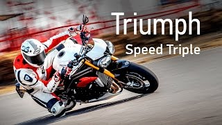 Тест мотоцикла Triumph Speed Triple 1050R смотреть