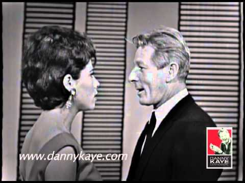 Danny Kaye and Michelle Lee sing on The Danny Kaye Show