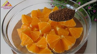 Whisk the orange with coffee and you will be satisfied with the result 😯 Just cook and taste