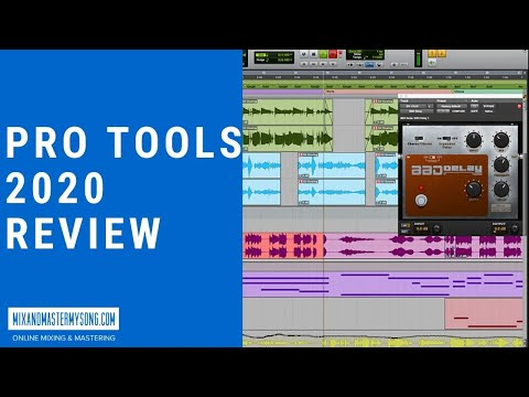 Pro Tools 2020 Review