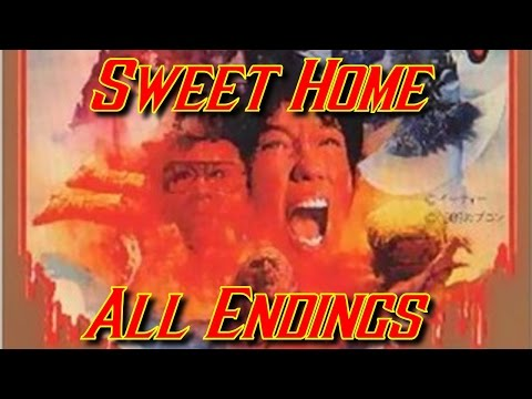 Sweet Home - Famicom/NES - All Endings