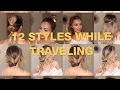 Fun easy hair styles while traveling | By SSHAIRR