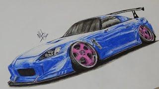 Honda S2000 Drawing