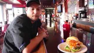 OutintheVille: Crazy Burger Toppings at Sweet Mels